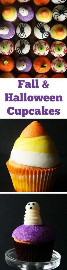Fall & Halloween Cupcakes