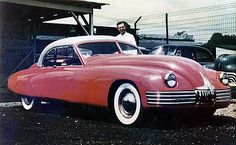 1941 Buick Roadmaster customized by Southern California customizer, Frank Kurtis for himself. Kept the frame and entirely restyled the body.