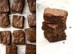 recipe for vegan brownies. They look tasty enough, so it's worth a try.