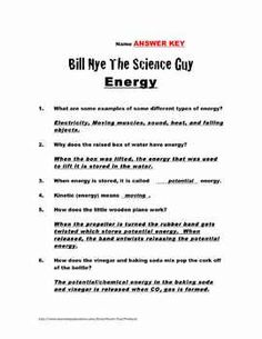 Bill Nye Plants Video Worksheet by Mayberry in Montana | TpT