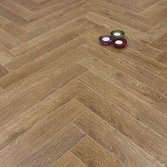 Prestige Herringbone Natural Oak 8mm Laminate Floor