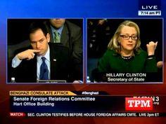Marco Rubio Questions Lying Liar Hillary Clinton On Benghazi Attack
