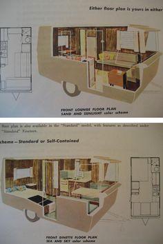 int rieur de caravane comment l 39 am nager pinterest caravane caravanes vintage et int rieur. Black Bedroom Furniture Sets. Home Design Ideas
