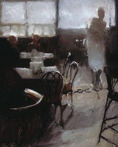 Danny McCaw. Cafe in Paris, 2012