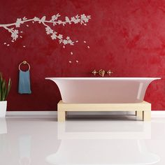Are you interested in our tree blossom wall sticker? With our sakura wall sticker you need look no further.