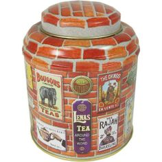 Brique - Old French Ads Motif Domed Tea Tin by Touch of Europe, http://www.amazon.com/dp/B008C3N3AG/ref=cm_sw_r_pi_dp_212irb1MRTXZB