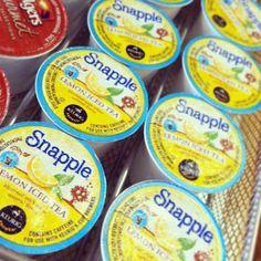 It's Snapple Lemon Iced Tea for @Rachel Stevens on Instagram