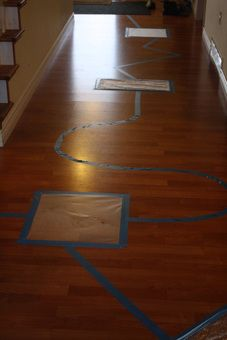 Picture Bubble Wrap Hardwood Floors Special Kids