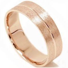 Mens 14K Rose Gold Brushed Comfort Fit Wedding Ring Pompeii3 Inc., http://www.amazon.com/dp/B004UTUZRU/ref=cm_sw_r_pi_dp_hlC8qb1DX7KDG