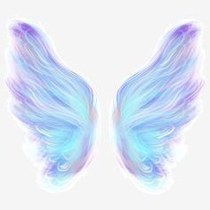 Angel Wings Art, Angel Wings Drawing, Angel Art, Fantasy Girl, Angel Clipart, Wings Png, Winx Magic, Poster Decorations, Blue Wings