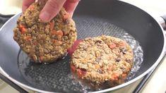 Furiosas hamburguesas de lenteja