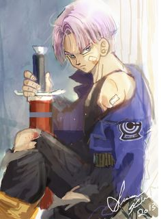 Trunks   the perfect guy   #dbz