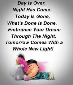 Tomorrow Comes With A Whole New Light! Place Quotes, All Quotes, Quotes To Live By, Funny Quotes, Funny Good Night Images, Sweet Dream Quotes, Prayers For Hope, Every Teenagers, Warm Bed