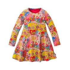 Oilily Autumn Winter 2014 Twirl Dress Animali Print | Pre-Order £45 #oilily