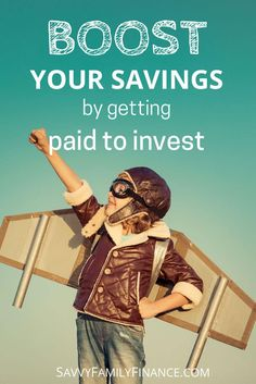 Boost your savings with dividend reinvestment where companies essentially pay you to invest. via @savvyfamfinance investing   investments   dividends   retirement   savings