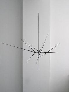 """First Dark"" sculpture in hand-carved bass wood by Christopher Kurtz (© 2010)"