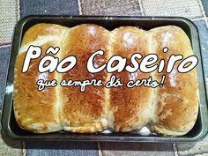 Pão Caseiro Fofíssimo para Iniciantes!! Esse pão SEMPRE DÁ CERTO!!