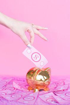 My Money Diary | studiodiy.com