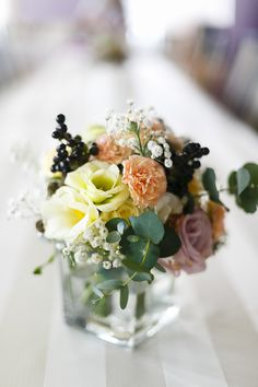 wedding table bouquet, pastel for. www.jakubdziedzic.pl Elite Wedding