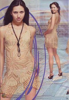 Delicadezas en crochet Gabriela: Túnica playera
