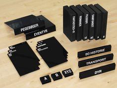 Wayfinding Signage, Signage Design, Pop Design, Label Design, Graphic Design, Price Signage, Bag Display, Denim Display, Library Signage