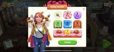 Game GUI Daily Bonus Rewards #game #gui #daily #bonus #rewards Online Puzzle Games, Online Games, Play Puzzle, Daily Rewards, Game Gui, Game Design, Ui Design, The New Wave, Play Online