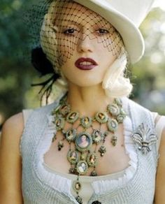 Love the cameo necklace. DieselSteamGypsy: Archive