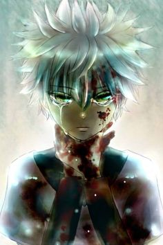 Hunter X Hunter - Killua  I've never seen anything about this, but I really like the art style