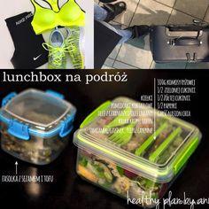 healthy plan by ann » Lunchbox w podróży, strój sportowy również :)
