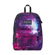 JanSport High Stakes Backpack ($40) ❤ liked on Polyvore featuring bags, backpacks, purple, school & day hiking backpacks, strap bag, jansport bags, pocket backpack, jansport and polyester backpack