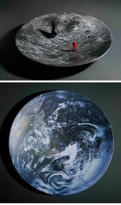 """""""Space Bowls"""" by Sebastian Errazuriz. I absolutely LOVE these!"""