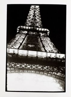 * Eiffel Tower - 1937 photo Otto Wols (Alfred Otto Wolfgang Schulze) (Berlin 1913 – 1951 Paris)