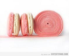 Bubble Gum Macaron