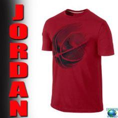 209db733 Nike AIR JORDAN Dri-FIT Basketball Shirt Red/ Black 777736 687 Jumpman SIZE  3XL