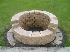 Cheap DIY Outdoor Fire Pit - Bing images
