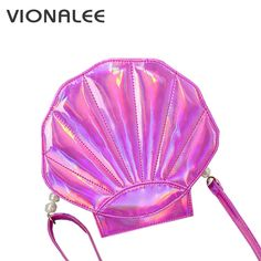 Women Holographic Purse and Handbag For Girls Shell Bag Women Messenger CrossBody Bags Women Bags By Shoulder Ladies bolsa holog