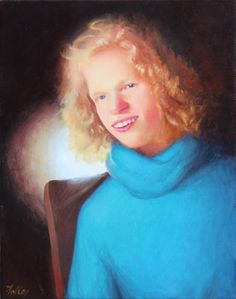 John Folley, artist -- Interview with a mom about a custom portrait done posthumously of her daughter, who suffered from a seizure disorder.