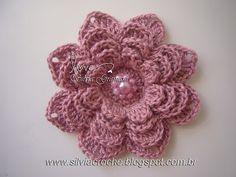 Silvia Gramani: Step by Step Flower Crochet