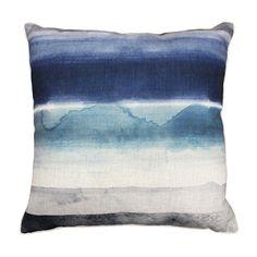 Ink Dark Blue Cushion 50Cm
