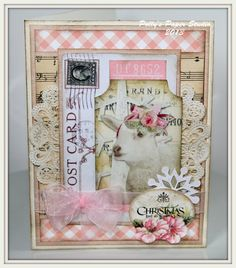 Christmas in July Class #2 Shabby Cards