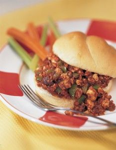 tofu sloppy joes # vegan more healthy eats vegan mains sandwiches firm ...