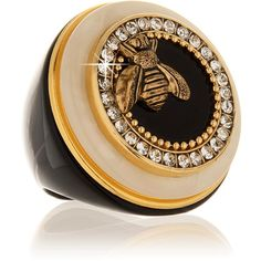 RINGSECLECTIC Royal Bee Ring ($115) ❤ liked on Polyvore