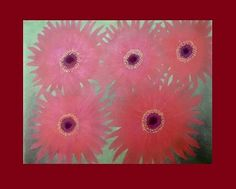 Intensa primavera - Óleo sobre papel - 33x25