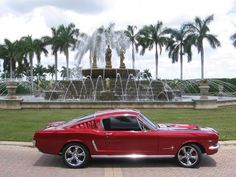 1966 Mustang Fastback.