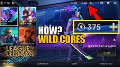 PAANO MAGKARON NG WILDCORES SA WILDRIFT LEAGUE OF LEGENDS Archduke, Fb Page, League Of Legends, Battle, World, Youtube, League Legends, Grand Duke, The World