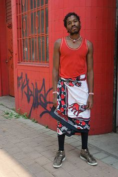 Mens street fashion in Africa photo: ed suter