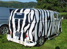 Zebra VW at Busfest by SARK S-W, via Flickr