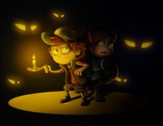 The Mystery Twins by Finchwing.deviantart.com on @DeviantArt