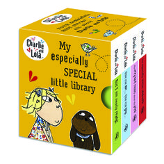 Charlie & Lola My Especially Special Little Library (c) {Rainbow Designs Ltd}. all rights reserved