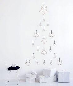 14 Scandi Decor Ideas for a Very Merry Minimalist Holiday via Brit + Co